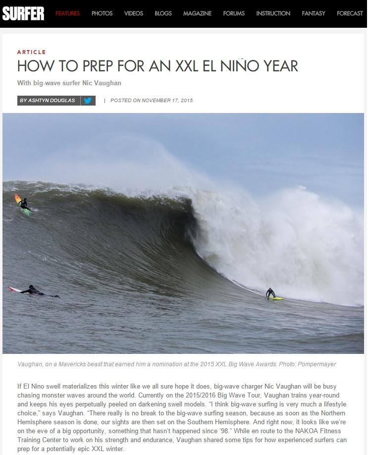 How to Prep for El Nino