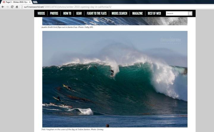 Surfer Mag Todos Drop 2010