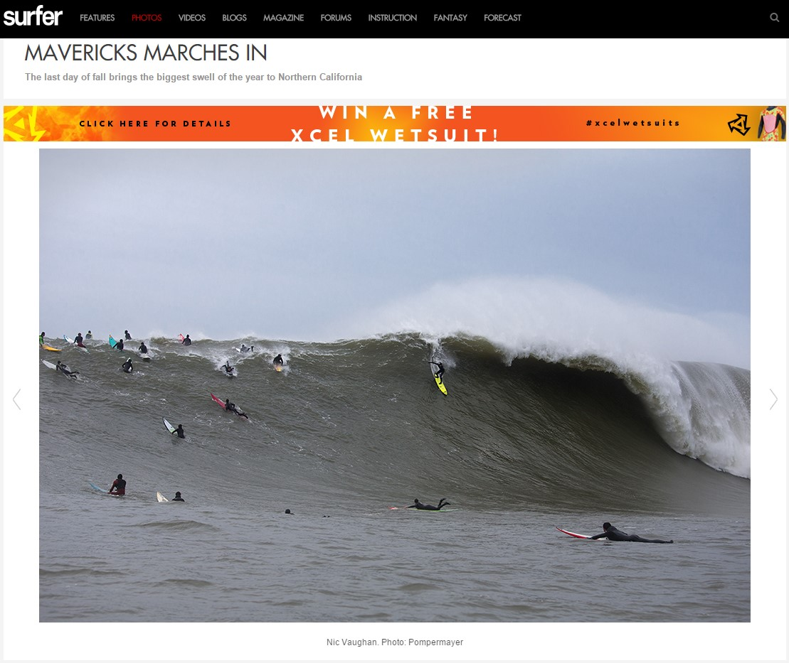 SurferMag.com Mavericks Gallery 1 - December 20, 2014
