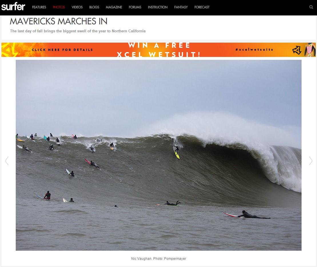 SurferMag.com Mavericks Gallery 1 - December 20, 2014