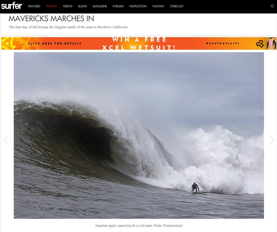 SurferMag.com Mavericks Gallery 2 - December 20, 2014