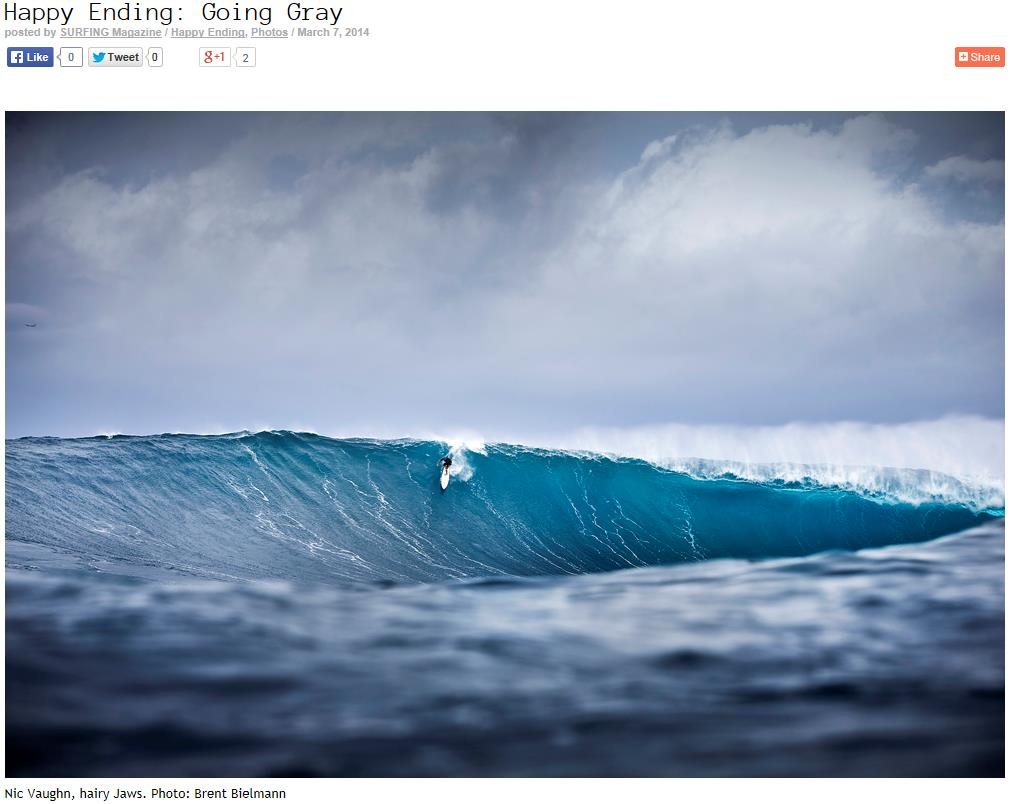 Surfing Mag Going Gray Jaws March 2014 2