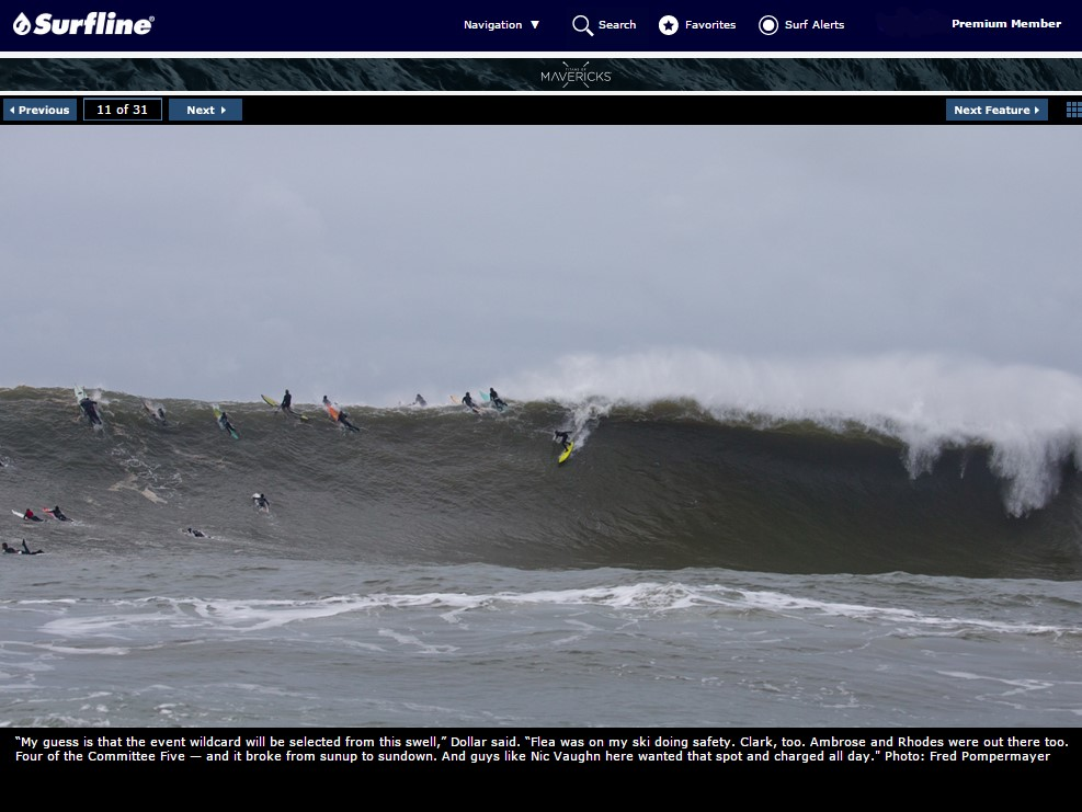 Surfline Mavericks Gallery - December 20, 2014