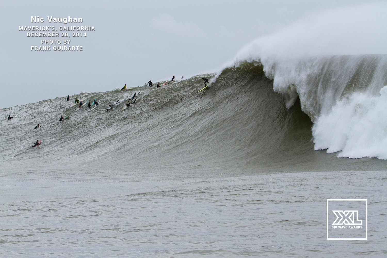 Mavericks XXL Awards Shot - 12.20.2014 - Photo Frank Quirarte