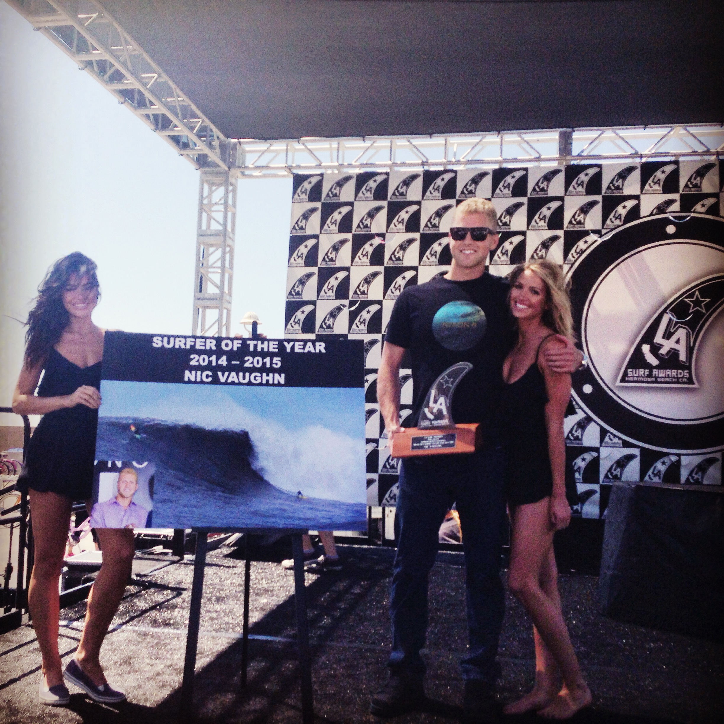 Nic Vaughan - LA Surfer of the Year Awards