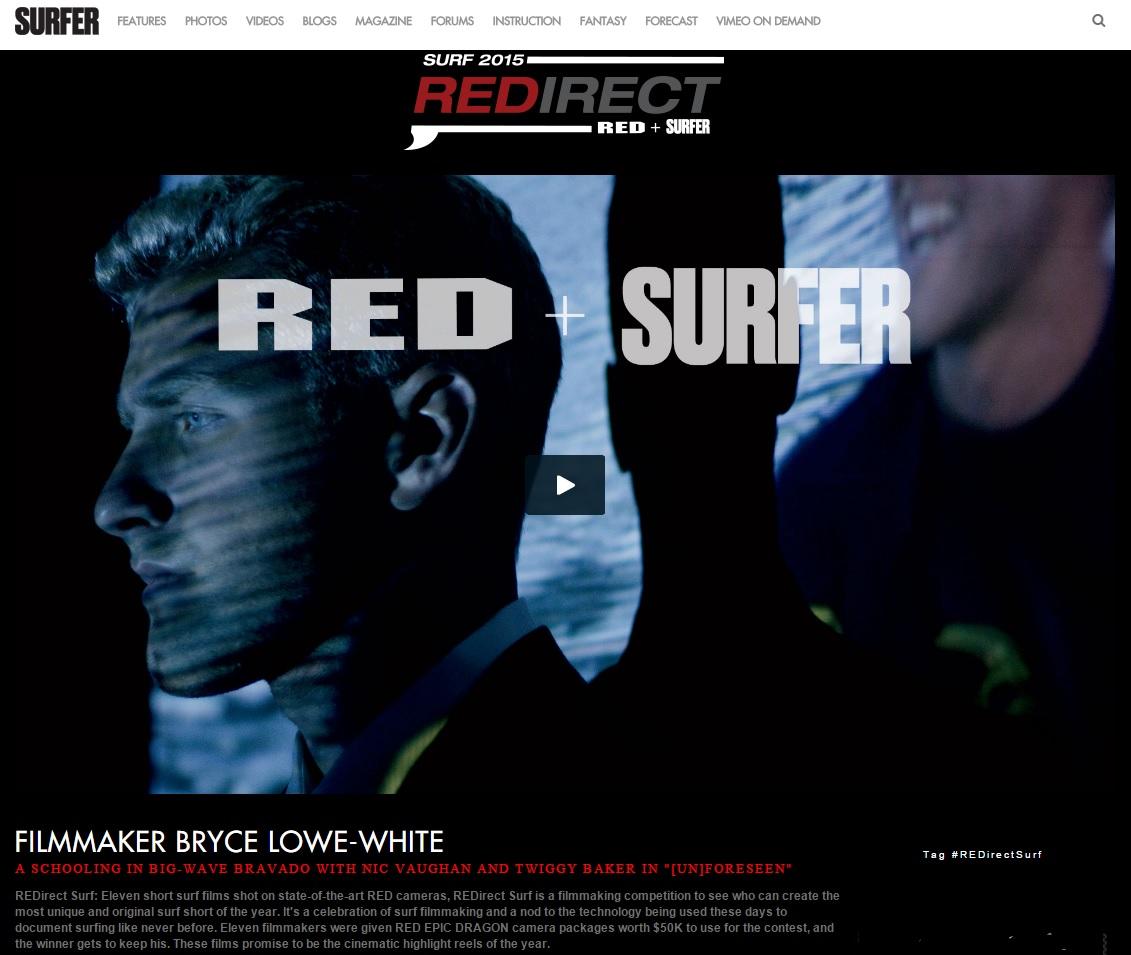 REDirectSurf Screenshot